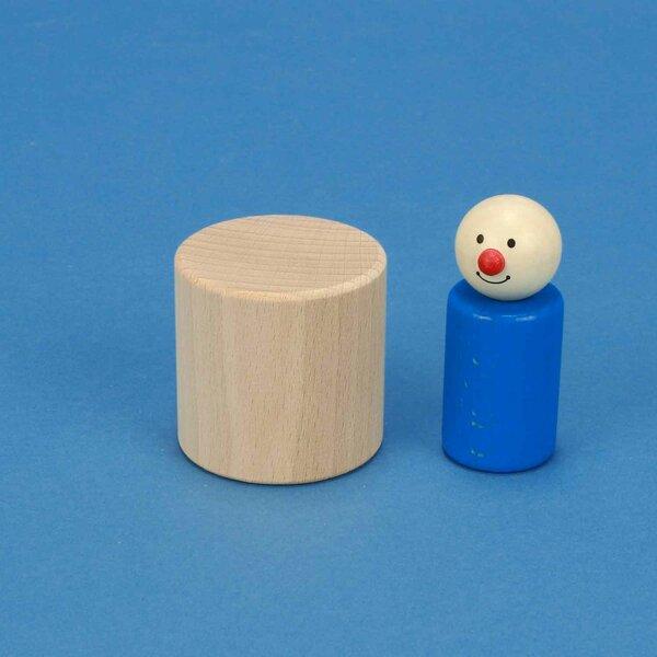 Cilinder beuk Ø 5 x 5 cm
