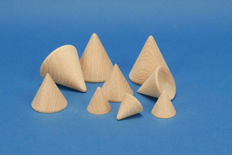 houten conus