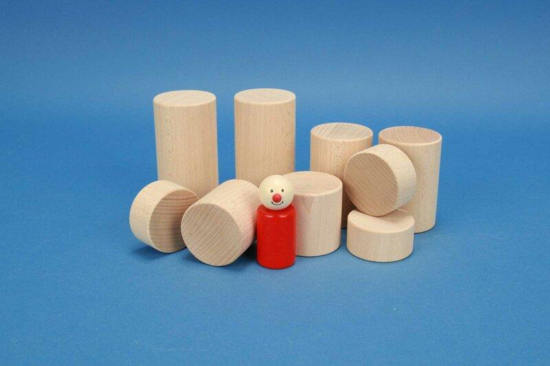 ronde houten blokken Ø 5 cm