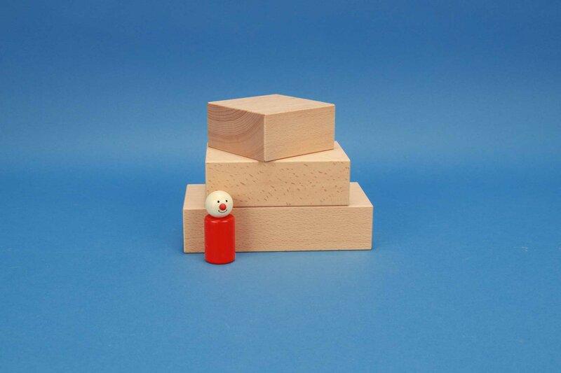 grote houten blokken 9 x 4,5 cm