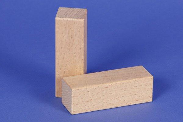 houten blokken 9 x 3 x 3 cm