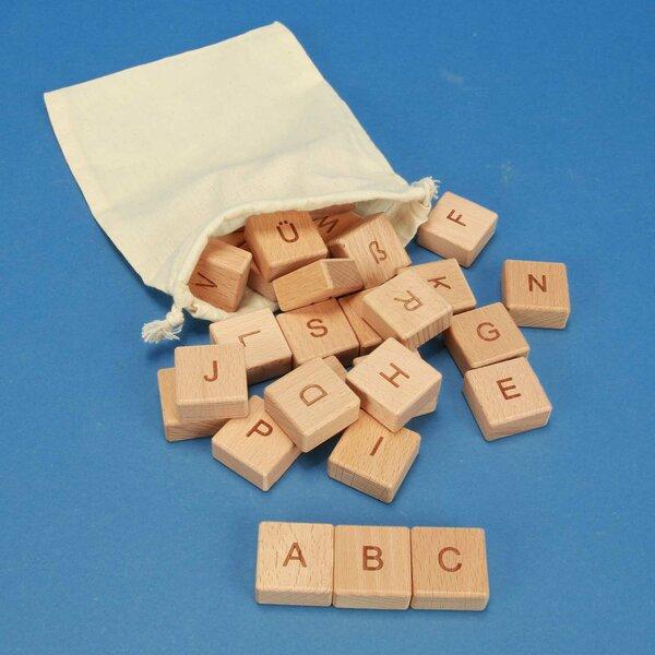 ABC-houten blokken 30 stuks