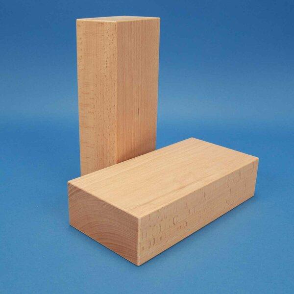 extra grote houten blokken 24 x 12 x 6 cm