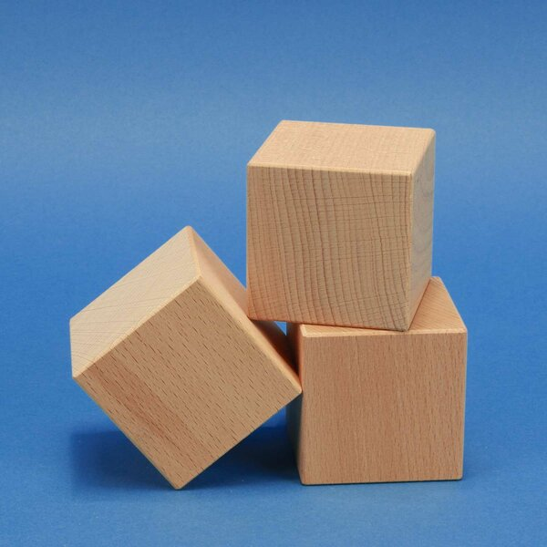 grote houten cubus 7 cm
