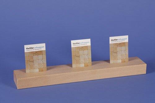 houten blokken 36 x 6 x 3 cm single-slit
