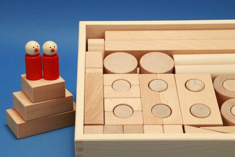 Fröbel houten blokken sets