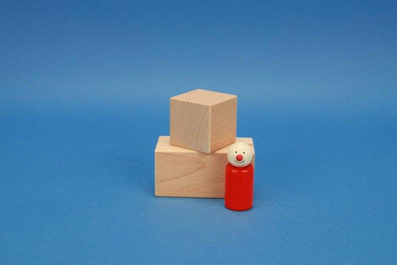 houten blokken 5 x 5 cm