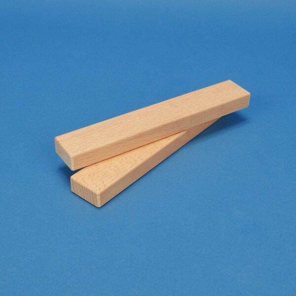 houten bouwblokken 18 x 3 x 1,5 cm