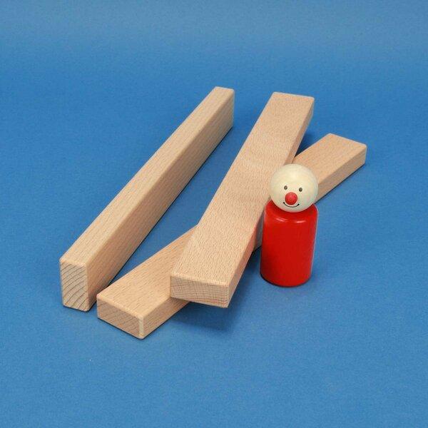 houten blokken 24 x 3 x 1,5 cm