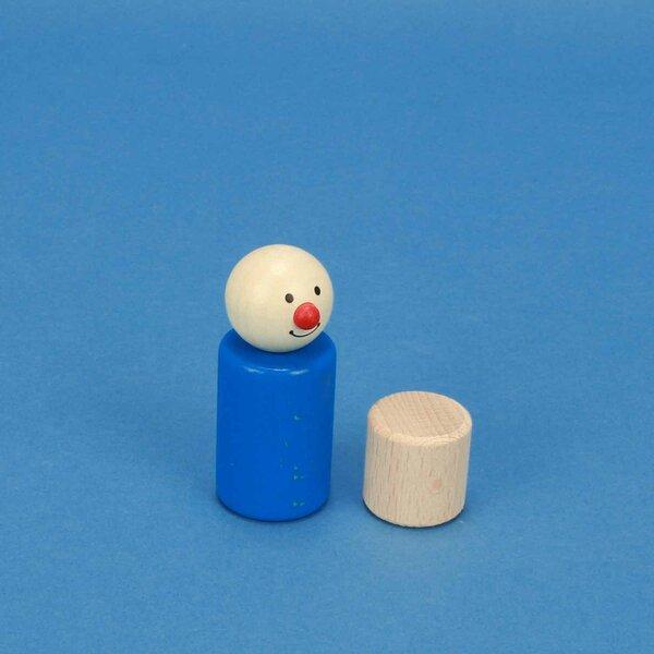 Cilinder beuk Ø 2,5 x 2,5 cm