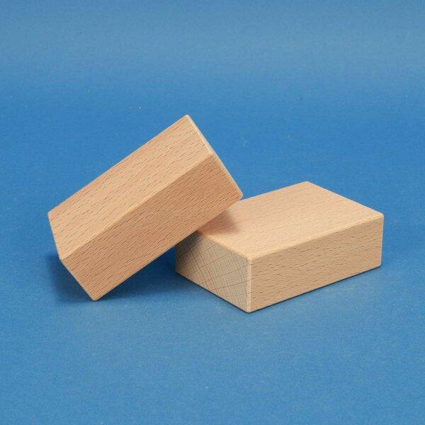fröbel houten blokken 9 x 6 x 3 cm