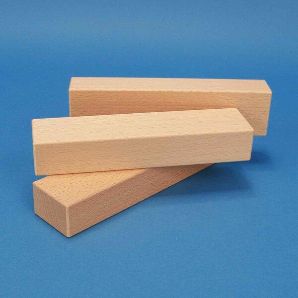 houten blokken 18 x 4,5 x 3 cm