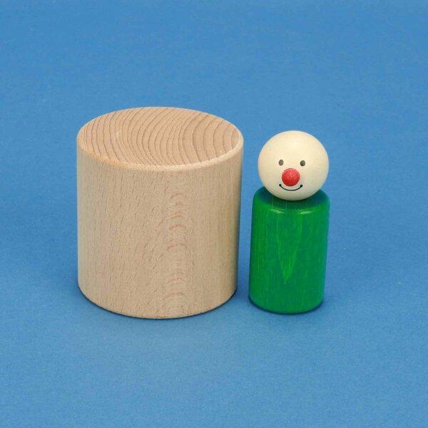 houten blokken rond Ø 6 x 6 cm
