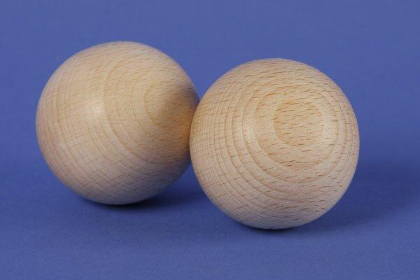 Houten kogels Ø 45 mm knikkerbaan