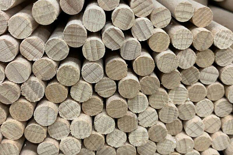 DIY-Ronde houten stokken