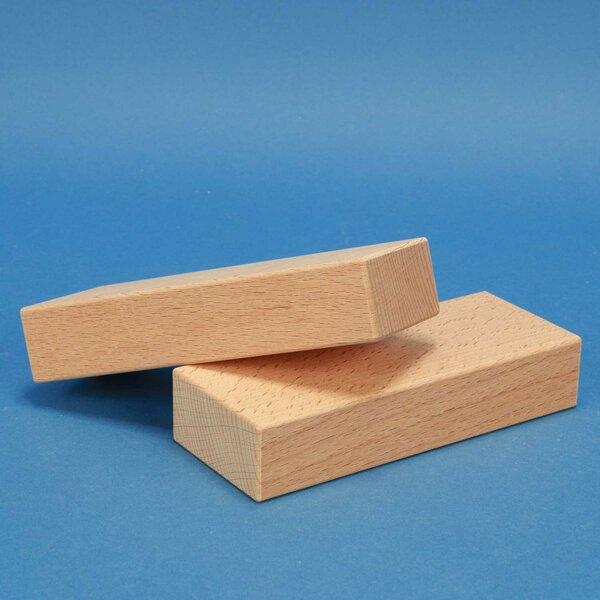 houten bouwblokken 15 x 6 x 3 cm