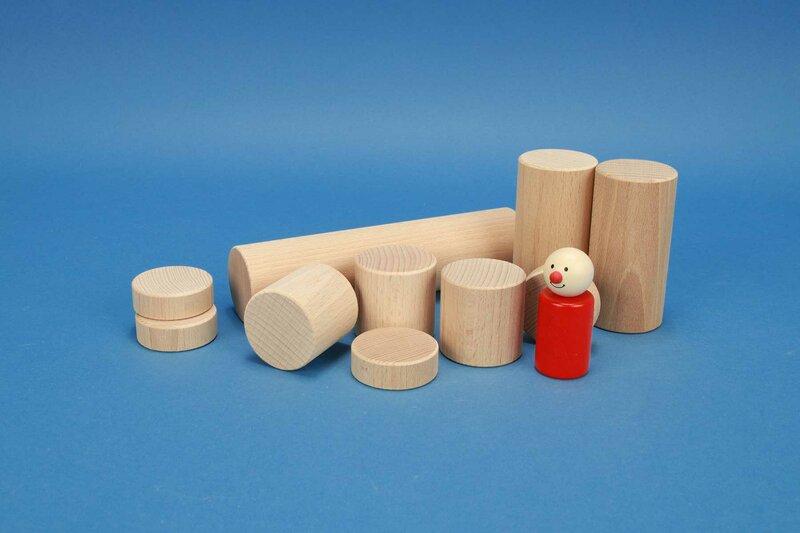 houten cilinders Ø 4,5 cm