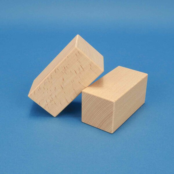 houten bouwblokken 10 x 5 x 5 cm