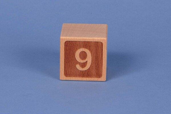 Houten naam blokken 9 negatief