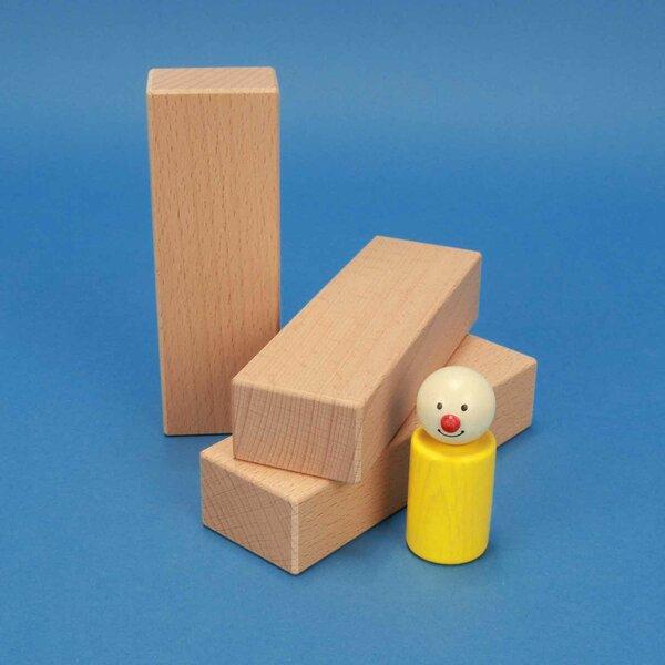 houten blokken 13,5 x 4,5 x 3 cm