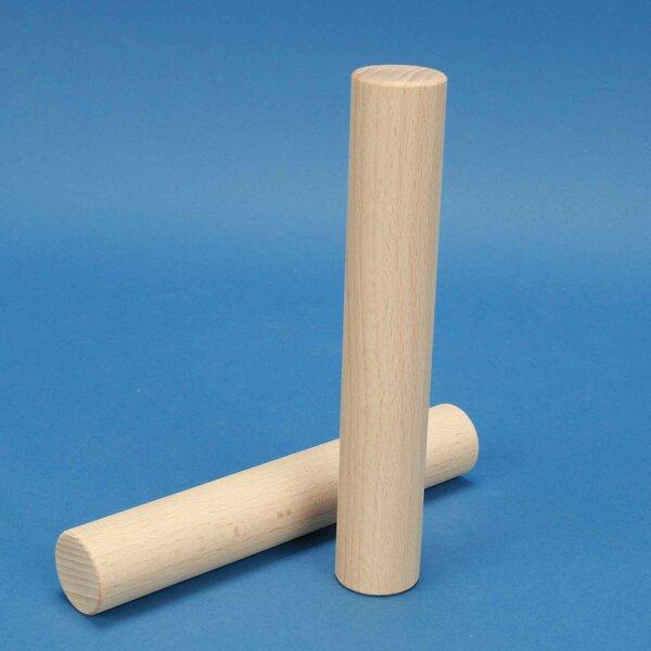 houten blokken rond Ø 3 x 18 cm