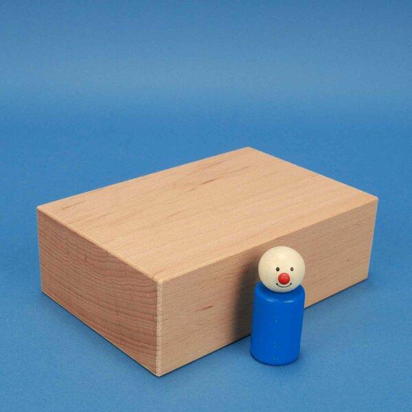 extra grote houten blokken 18 x 12 x 6 cm