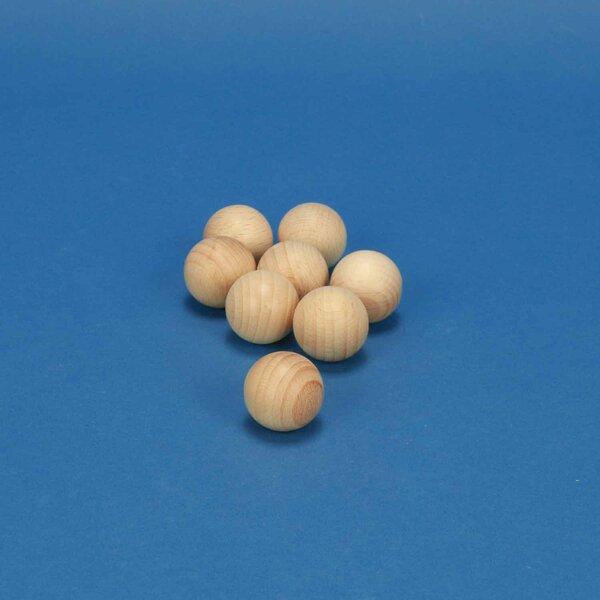 Houten ballen beukenhout Ø 25 mm