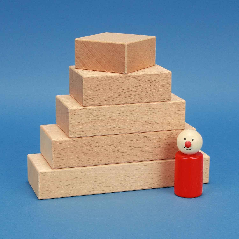 houten blokken per stuk