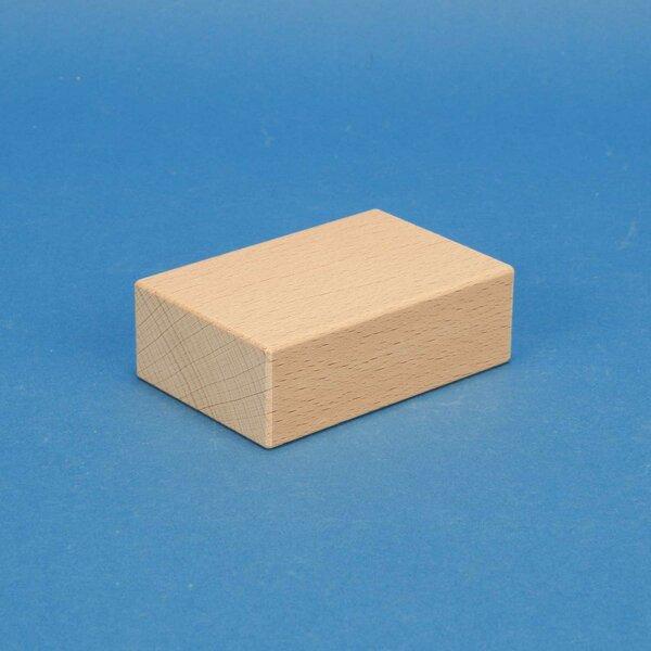 wooden stamp 9 x 6 x 3 cm