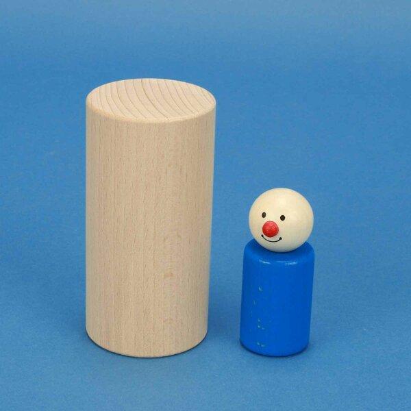Cilinder beuk Ø 5 x 10 cm