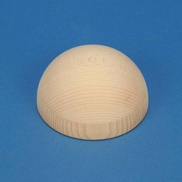 Halve houten ballen beuk Ø120mm