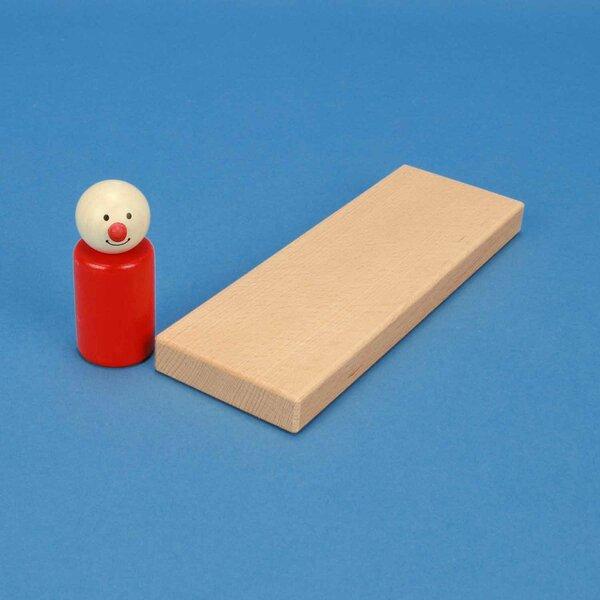 houten bouwblokken 18 x 6 x 1,5 cm