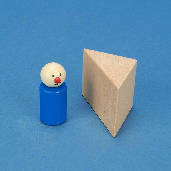 houten columns driehoekig 6 x 6 x 6 cm rechthoekig