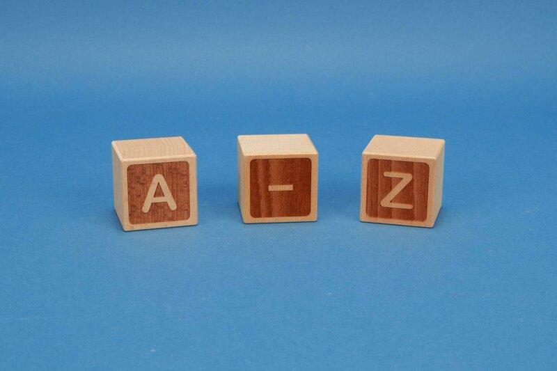 letterkubus A-Z negatief