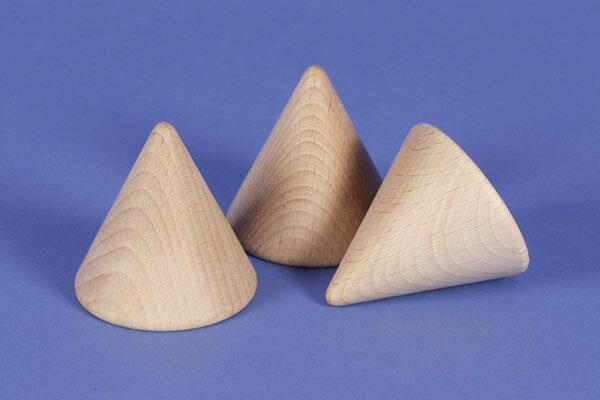 grote conus beukenhout 4,5 cm
