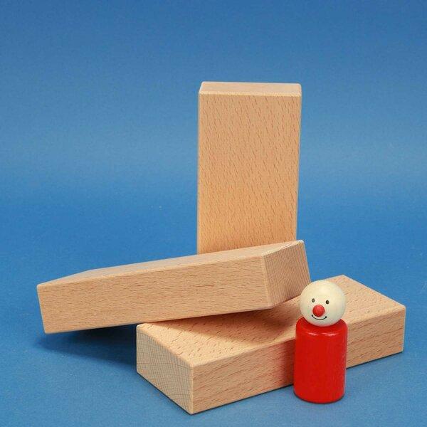 fröbel houten bouwblokken 15 x 6 x 3 cm