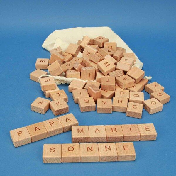 ABC-houten blokken 82 stuks
