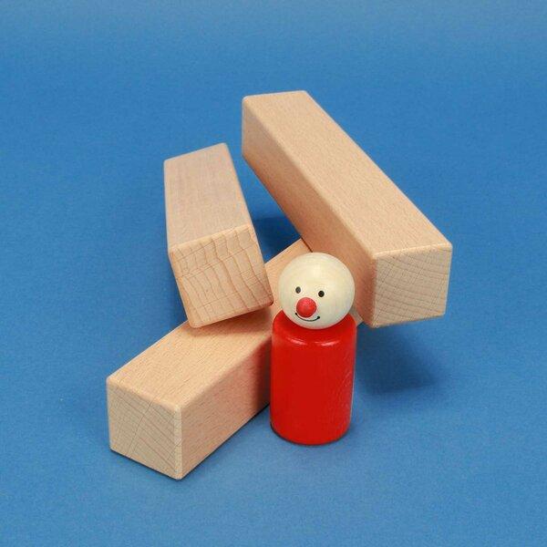houten blokken 15 x 3 x 3 cm