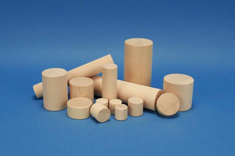 Houten cilinder beuk