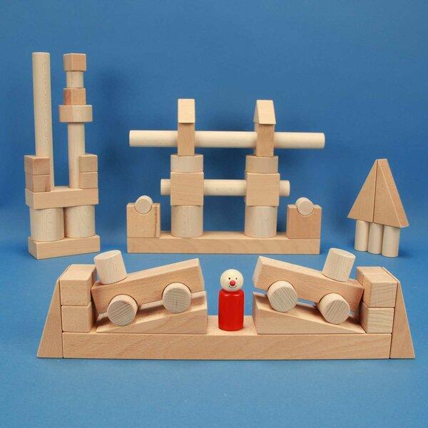 Froebel houten bouwblokken Set 57 TS 01