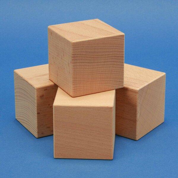 houten kubus blokken 2 inches
