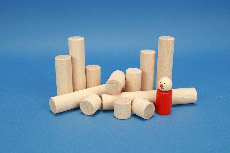 houten cilinder Ø 3 cm
