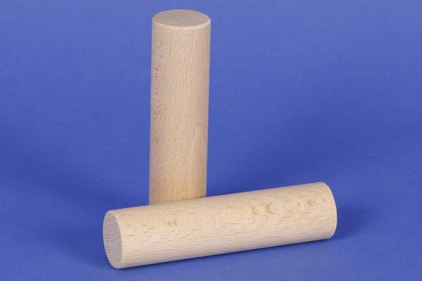 Cilinder beuk Ø 2,5 x 10 cm