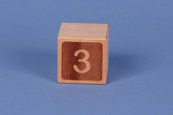 Houten naam blokken 3 negatief