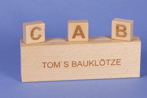 houten blokken - Speciale producten