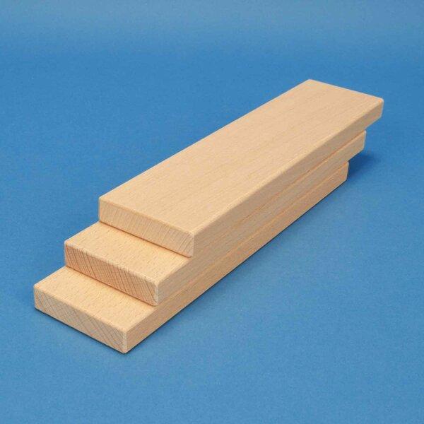 houten blokken 24 x 6 x 1,5 cm