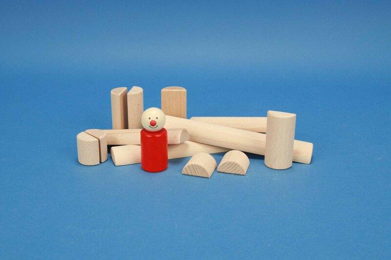houten half-cilinders Ø 3 cm
