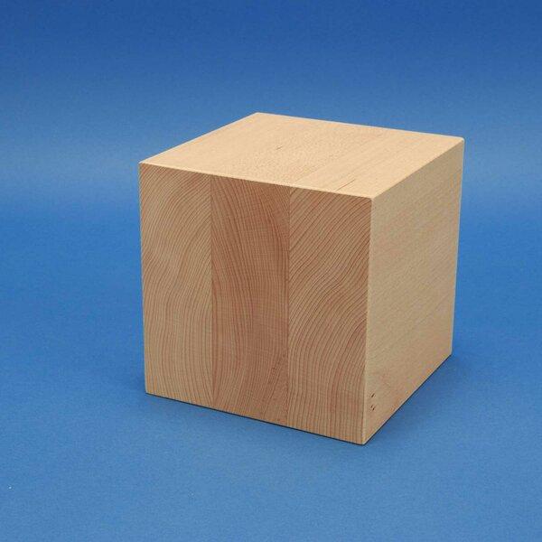 20 cm houten kubus blokken
