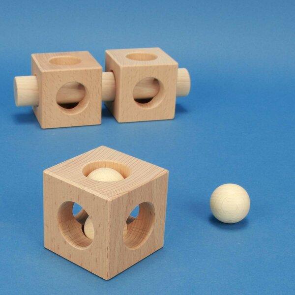 houten kubus - Speciale producten