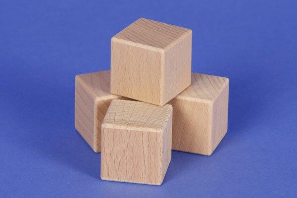 geometrisch lichaam: kubus 3 cm
